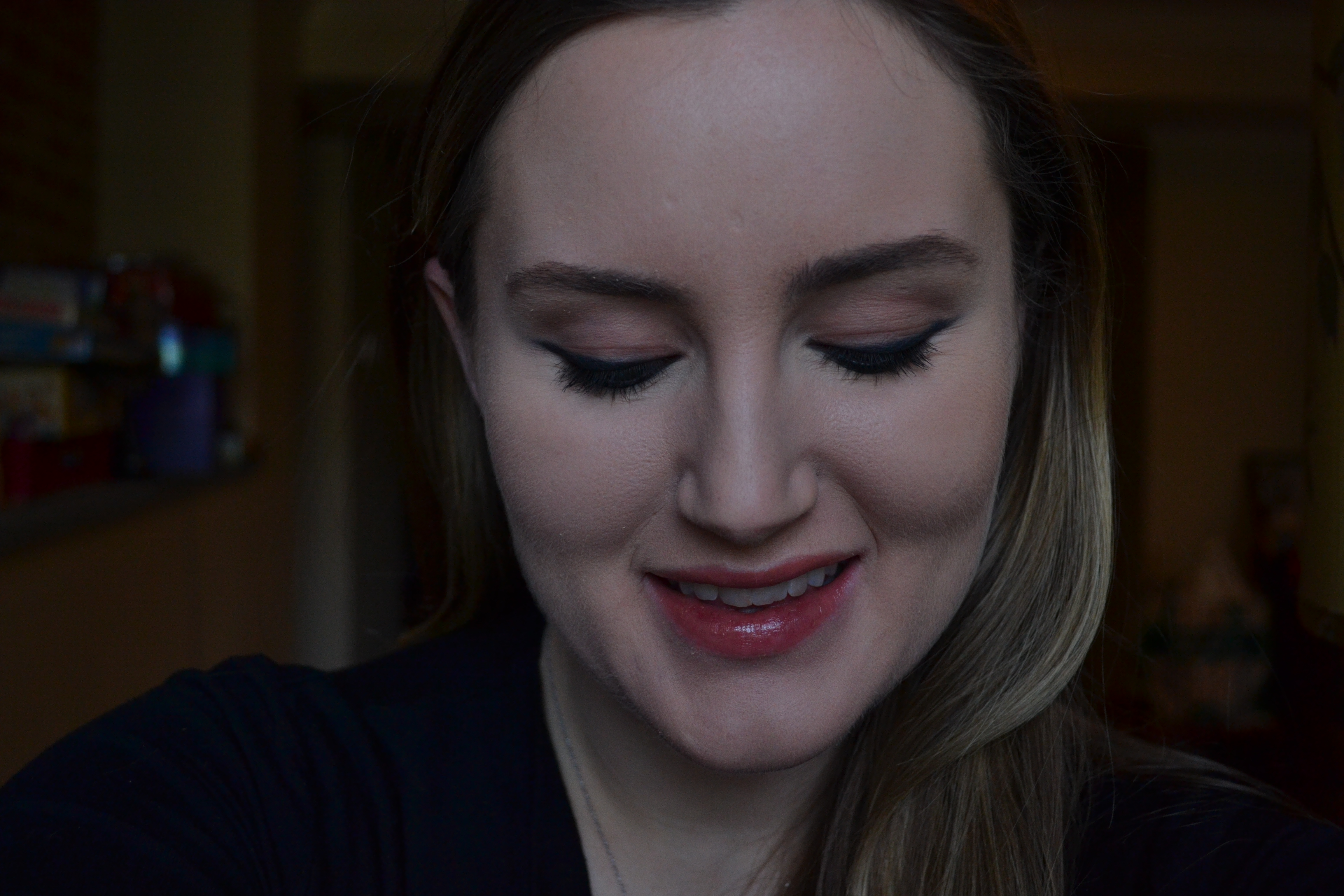 Beauty on a Budget: Natural Makeup & Heavy Eye Liner